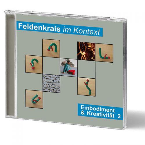 CD cover 'Embodiment & Kreativität 2'